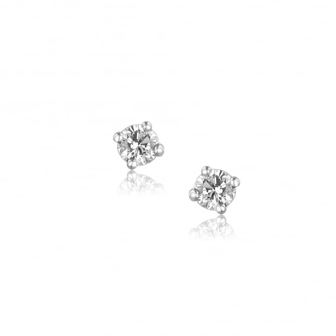 0.25ct Diamond Stud Earrings in 9ct White Gold