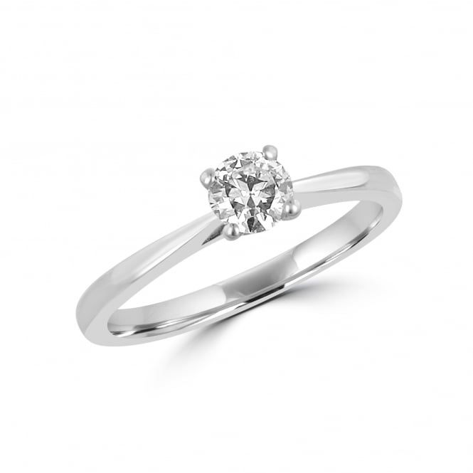 0.32ct Round Cut Diamond Engagement Ring RPN35220