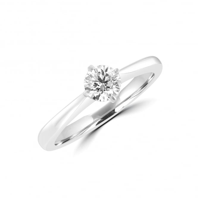 0.44ct Round Brilliant GIA Certified Diamond Ring RPN34371