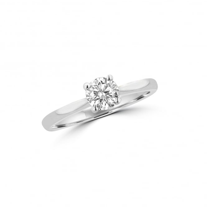 0.50ct Round Cut Diamond Engagement Ring RPN37197