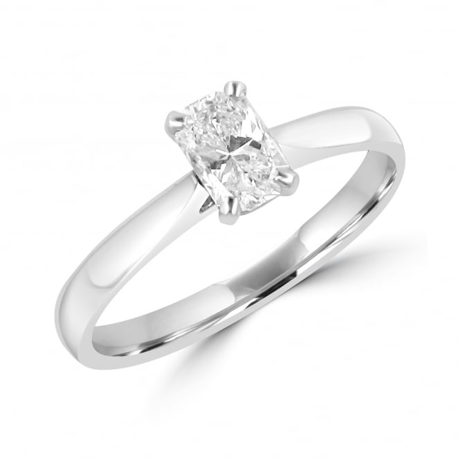 0.58ct Fancy Phoenix Cut Diamond Engagement Ring