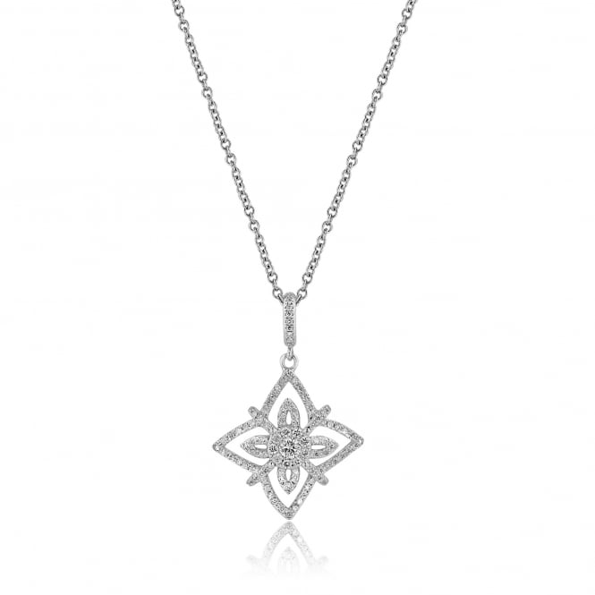 0.64ct Fancy Diamond Pendant and Chain