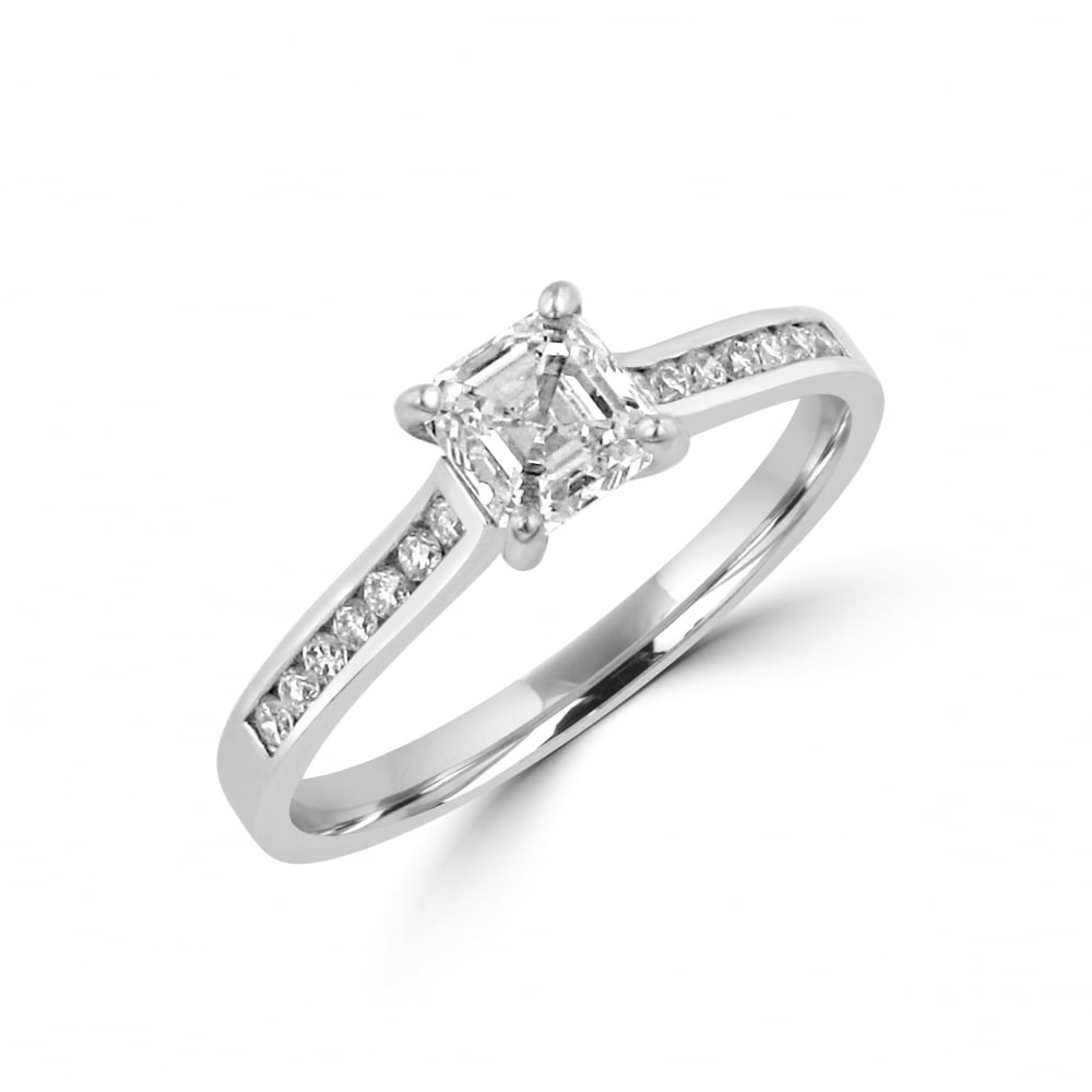 white square ring engagement bypass products gold diamond style princess rings cut collections cluster