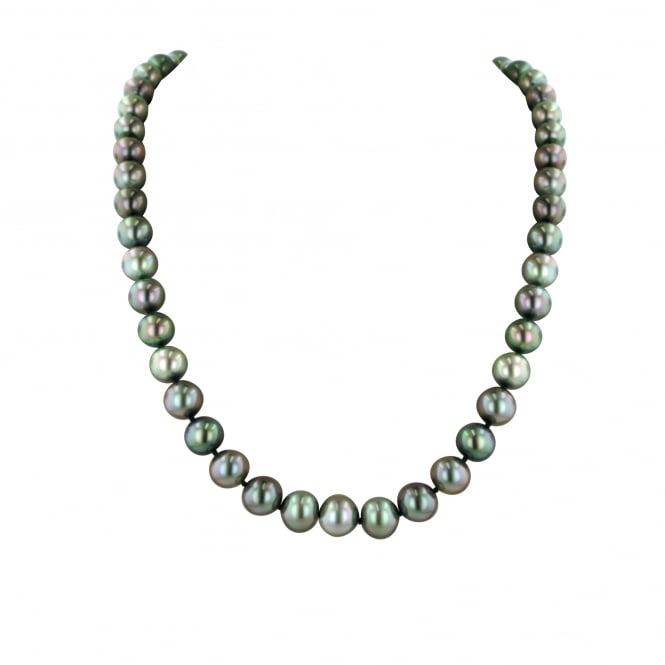 "18"" Tahitian Cultured Pearl Necklace With 18ct Clasp"