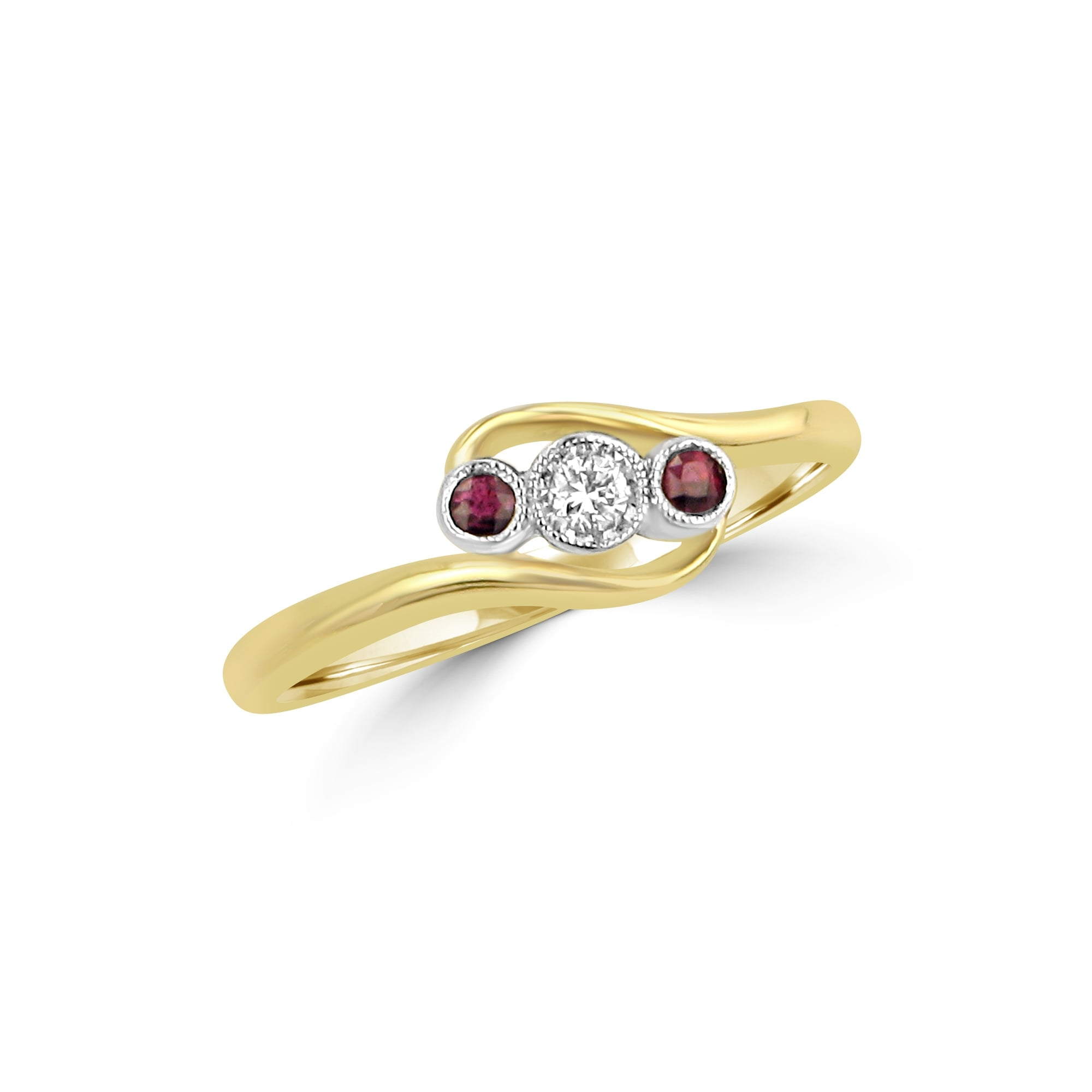 avanti and ruby dress stone gold three image diamond rings white womens ring