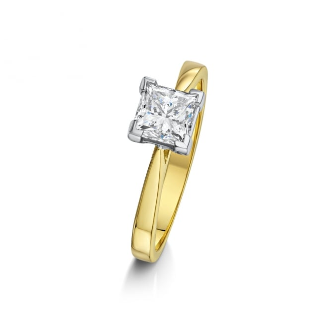 18ct Gold GIA 1.02ct Diamond Solitaire Engagement Ring RMN36316