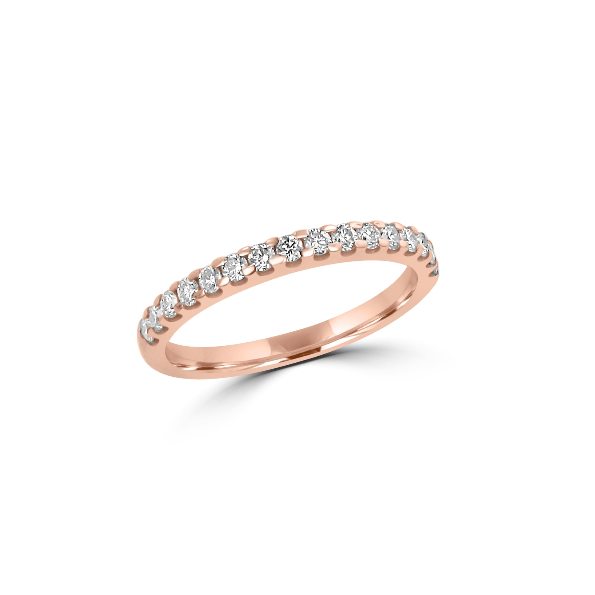 from eternity womens rings half image set bands rose wedding diamond gold avanti ring band