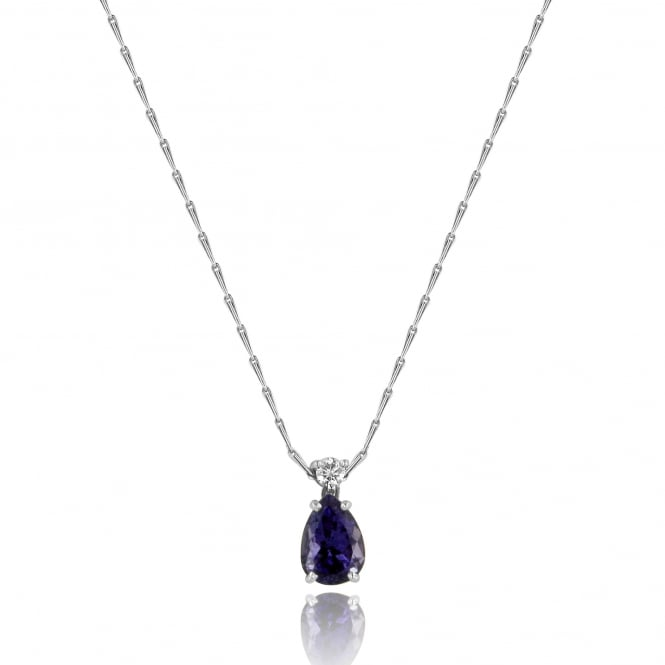 18ct Tanzanite and Diamond Necklace