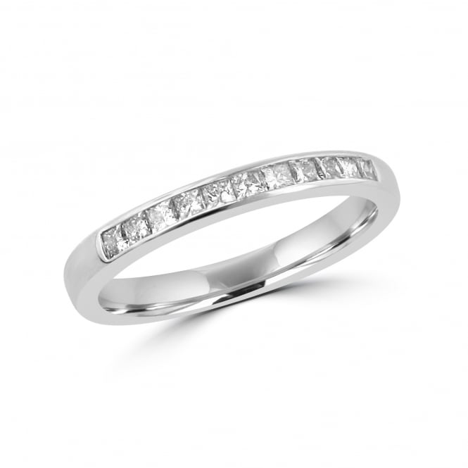 18ct White Gold 0.33ct Diamond Eternity/Wedding Ring RWT31283