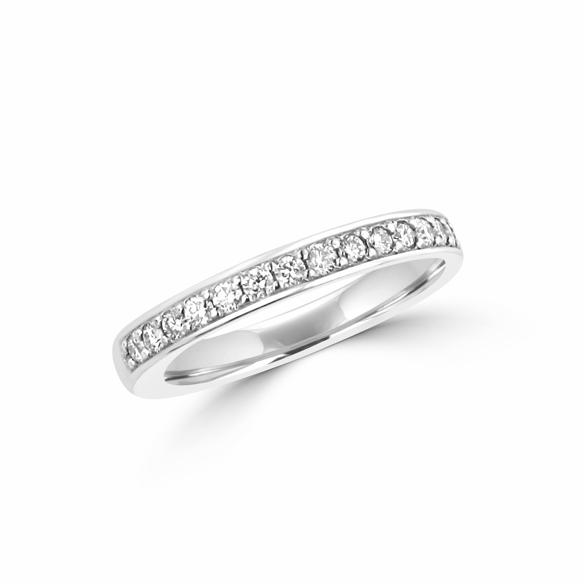 It is just a graphic of 447ct White Gold 447.47mm Round Diamond Wedding Band 47.4479ct