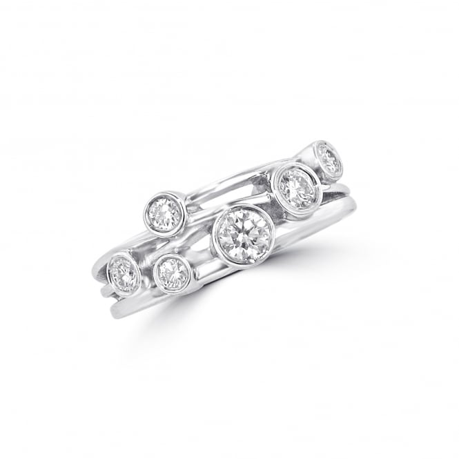Avanti 18ct White Gold Diamond Ring from the Cascata Range RWD3785