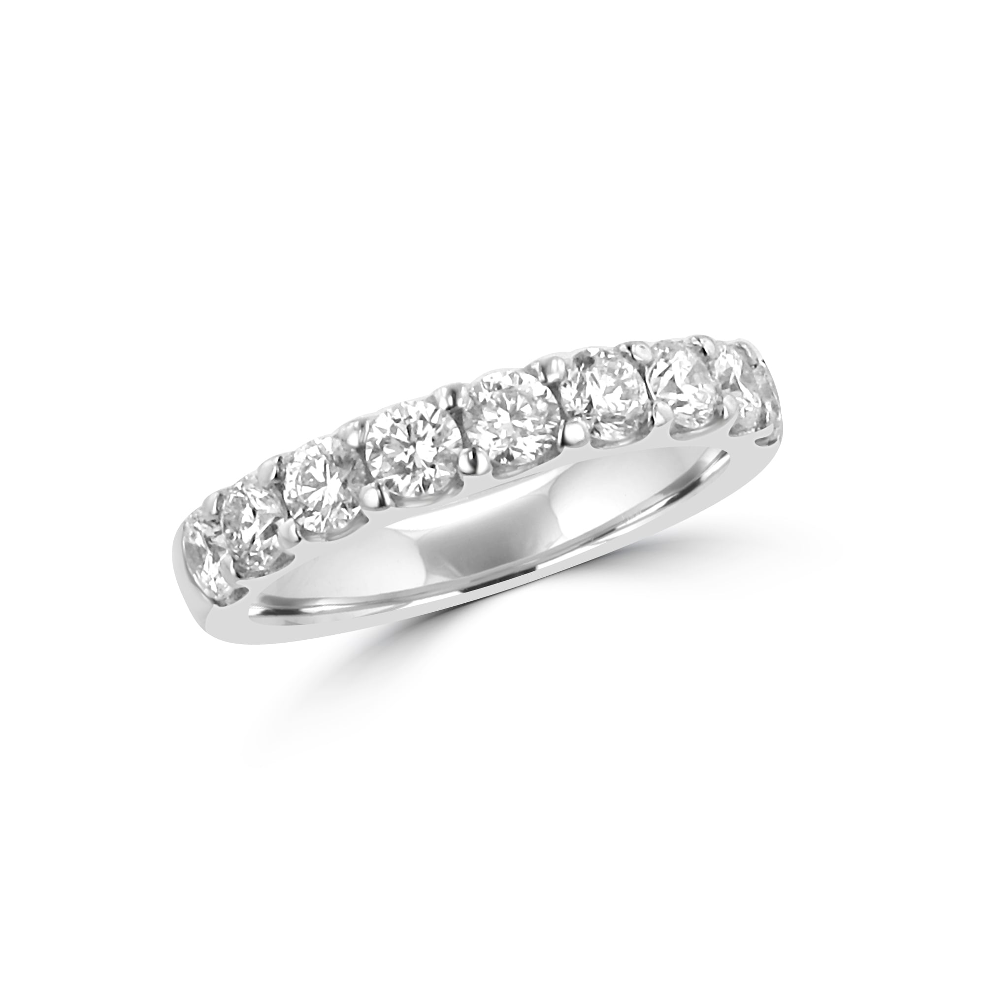 h collections rings gold products stone size ct total stackable band round ring white diamond bands