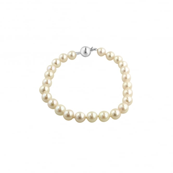 6.5-7mm Cultured Pearl Single Row Bracelet