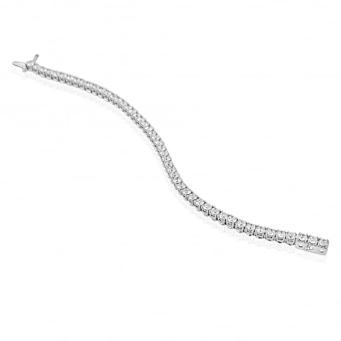 8.14ct Diamond Bracelet in 18ct White Gold BW3645