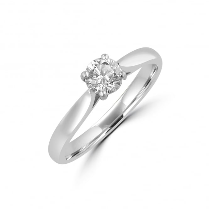 A Classic 0.50ct Round Brilliant Diamond Engagement Ring RWN21174