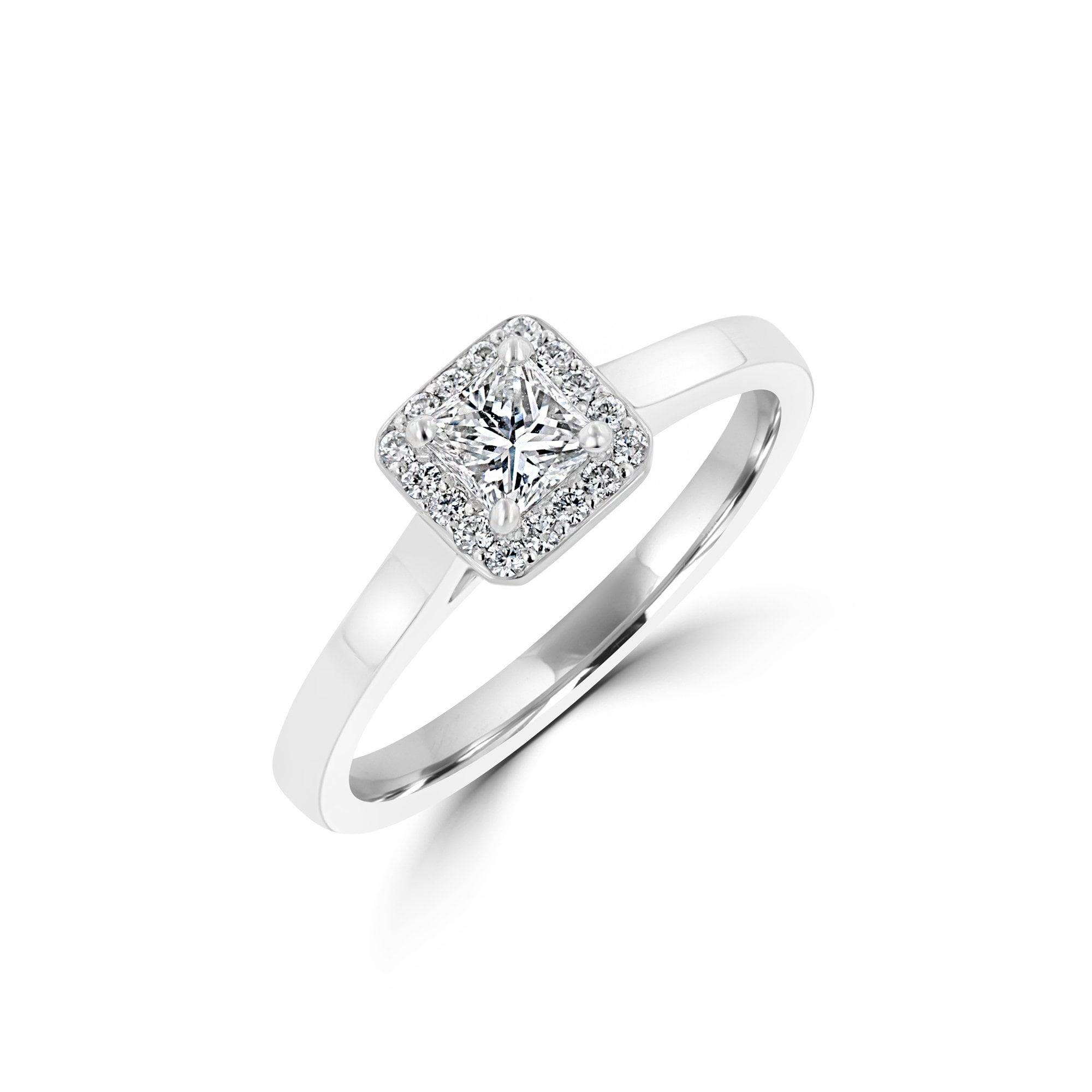 Diamond Halo Ring Avanti Jewellers Engagement Ring Specialist