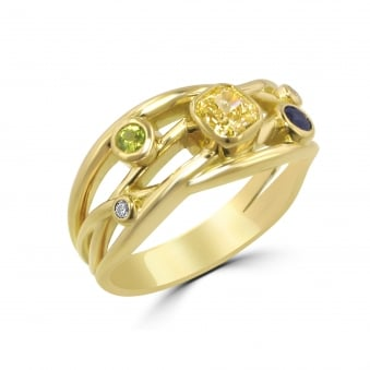 0.56ct Cascata 18ct Gold Diamond Ring RYD35142