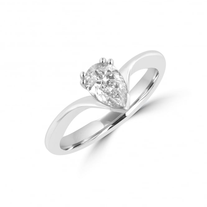 Avanti 0.71ct Pear Shape Diamond engagement Ring