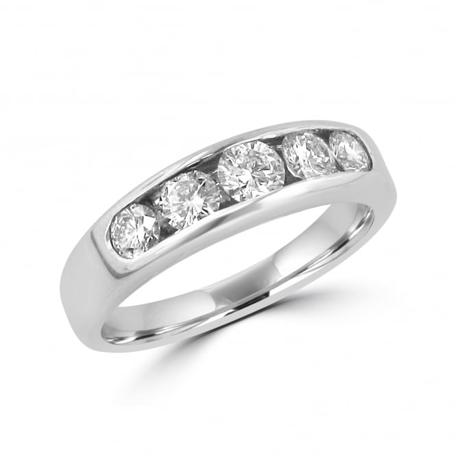 Avanti 0.84ct Five Stone Diamond Eternity Ring RWT32256