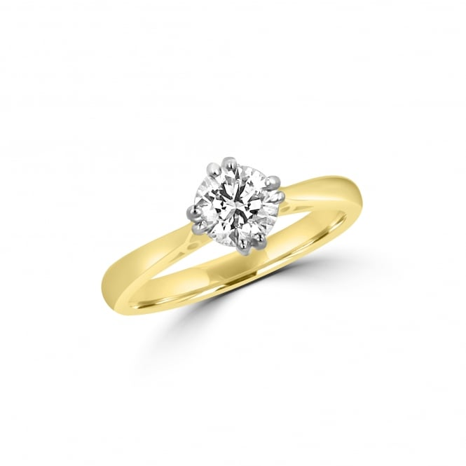 Avanti 18ct Gold 0.70ct Diamond Solitaire Engagement Ring RMN3760