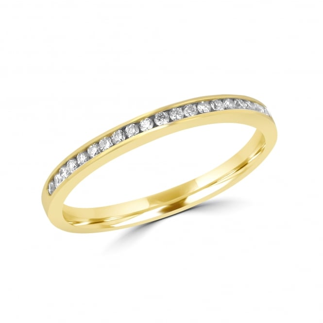 Avanti 18ct Gold Eternity Ring With Twenty-Two Diamonds RYT35396