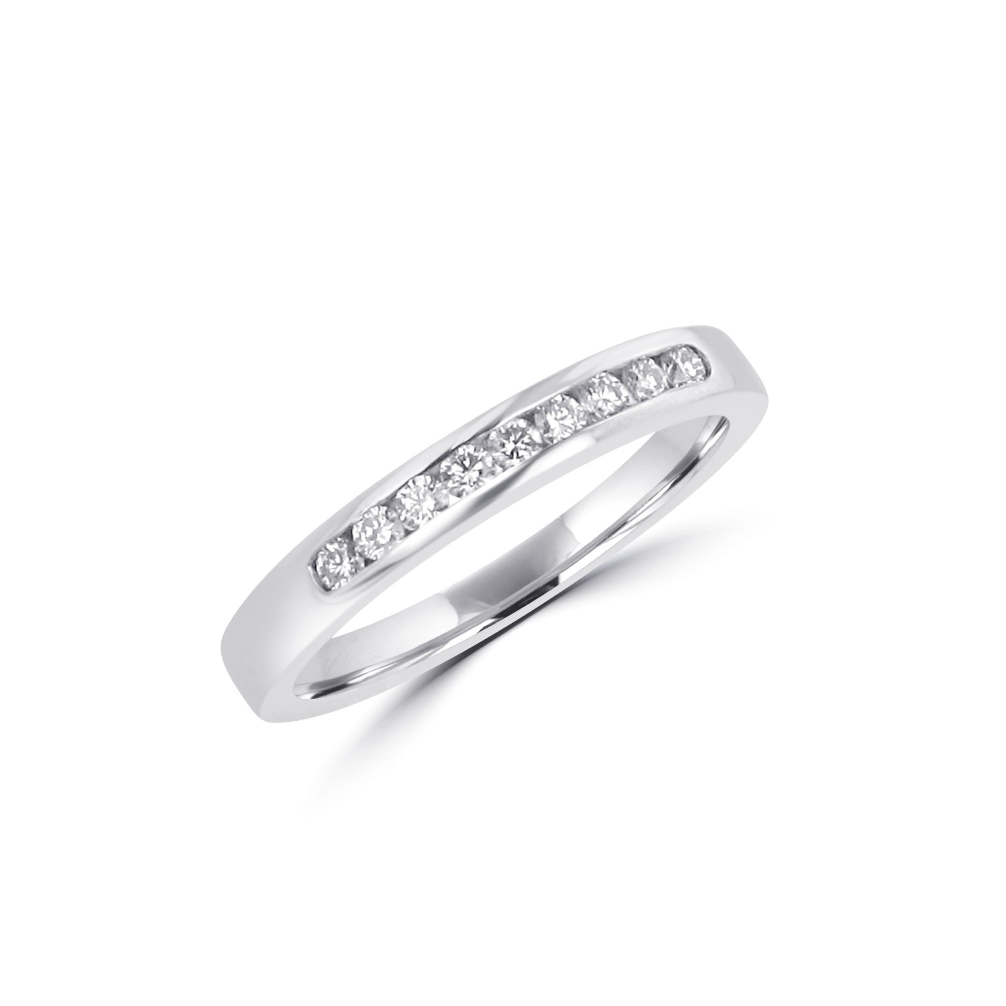 walmart white gold ip bands ring wedding carat diamond band enhancer round com guard