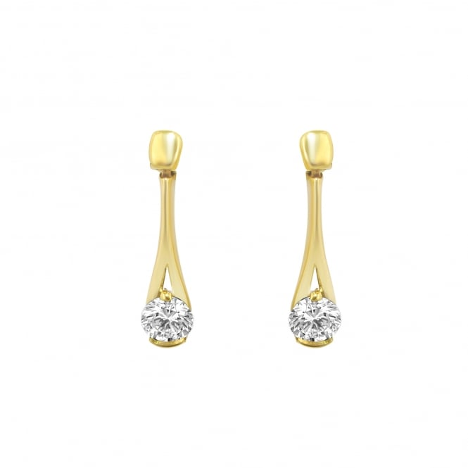 Avanti 18ct Yellow gold 0.72ct Diamond Earrings EYD3461