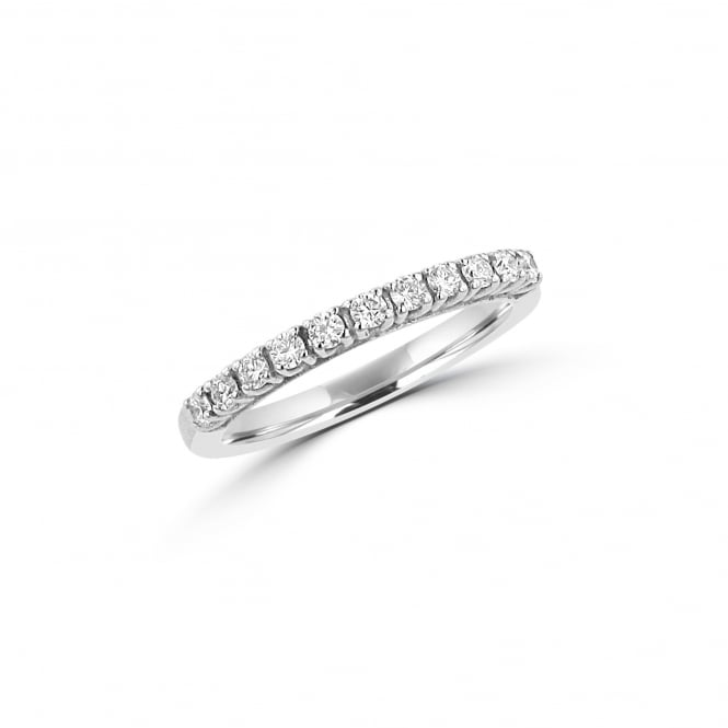 Avanti 2mm 18ct White Gold Eleven Stone Round Diamond Ring RWT35386