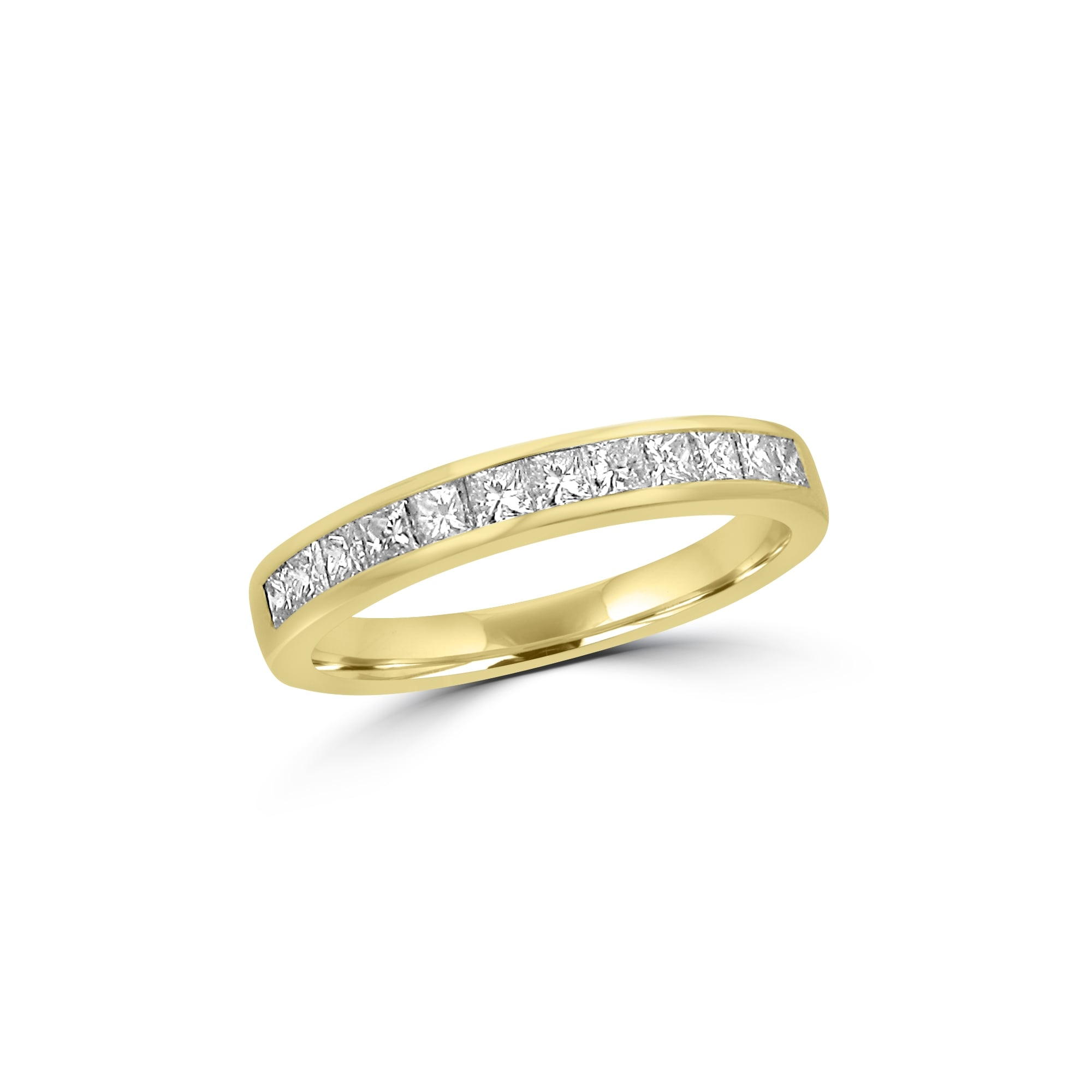 wedding ring gold rings rose itm rolling white tri tt carat band ebay yellow diamond eternity
