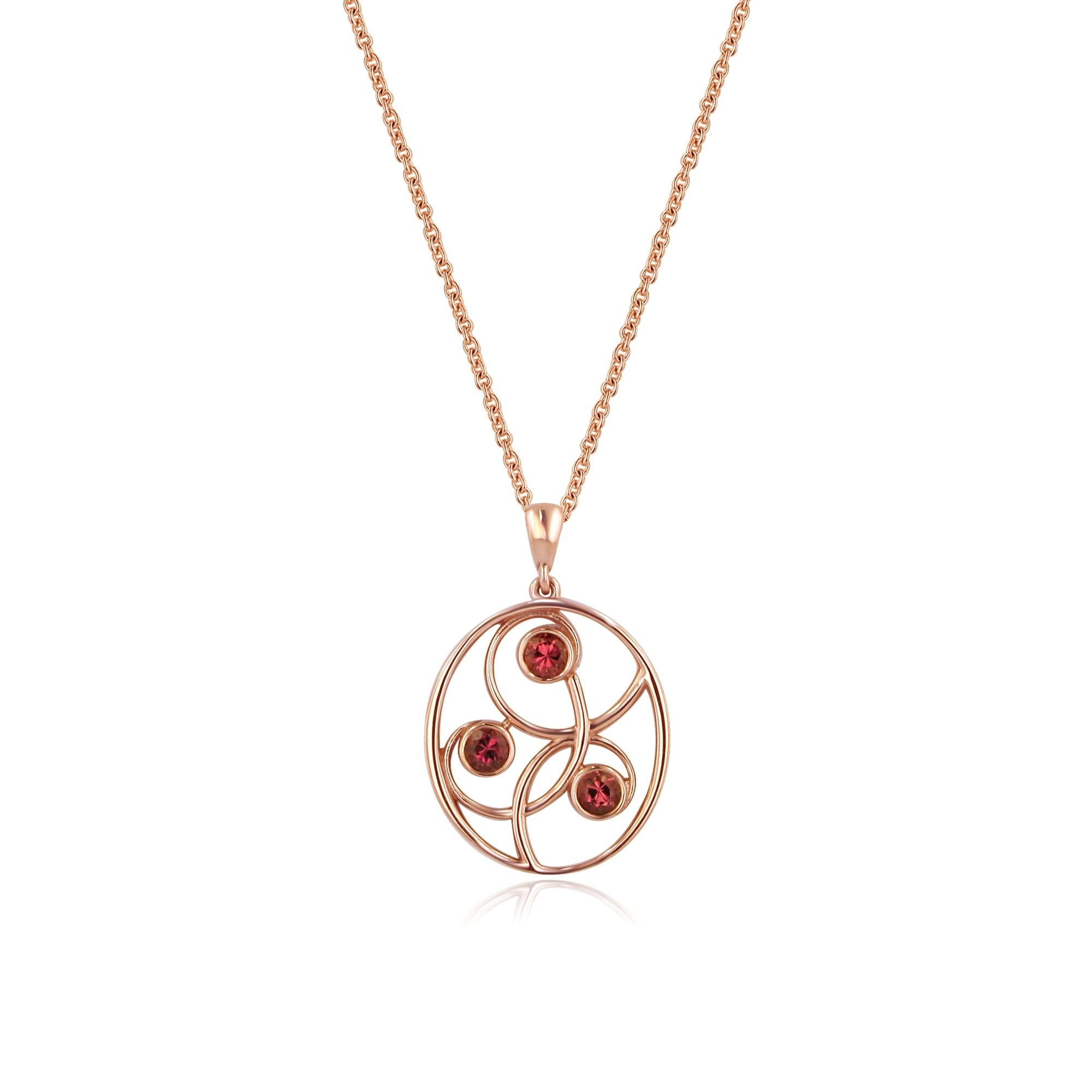 pink nojust garnet amethyst kaufman pendant necklace diamond allison gold rose product tourmaline and