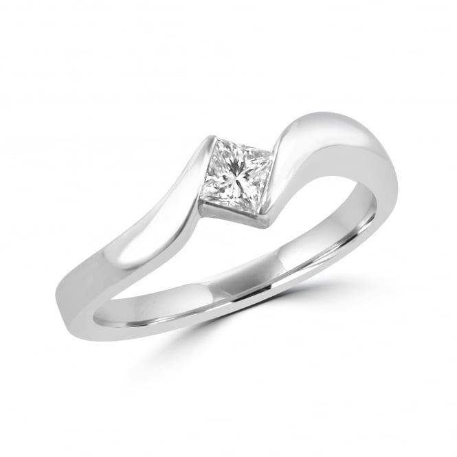 Avanti Crossover Princess Cut Diamond Ring RPN29102