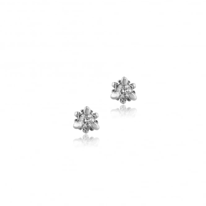Avanti Designed 0.59ct Round Diamond Stud Earrings in 18ct White Gold EWT36154