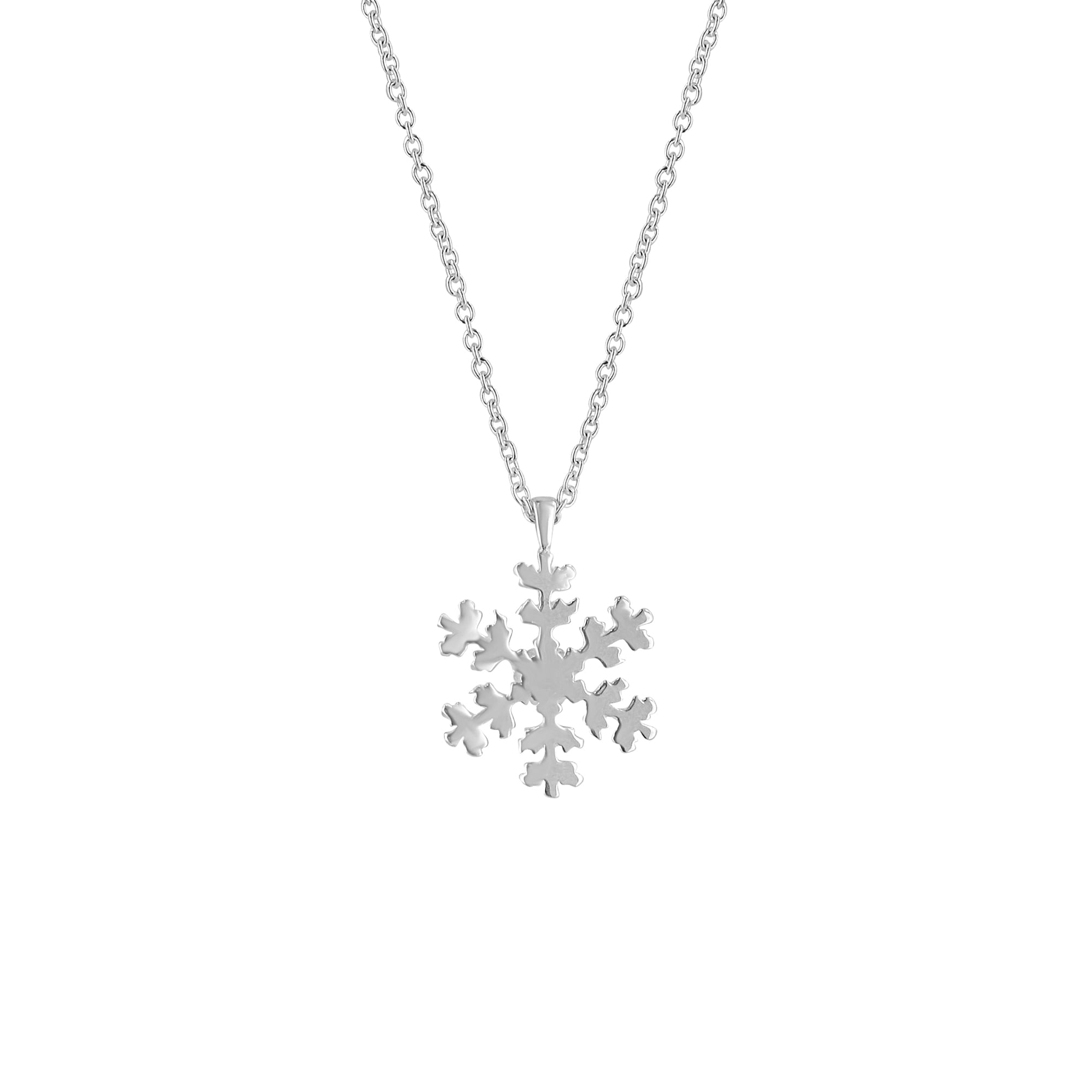 message lilycharmed card original necklace product charmed by personalised with charm lily silver snowflake