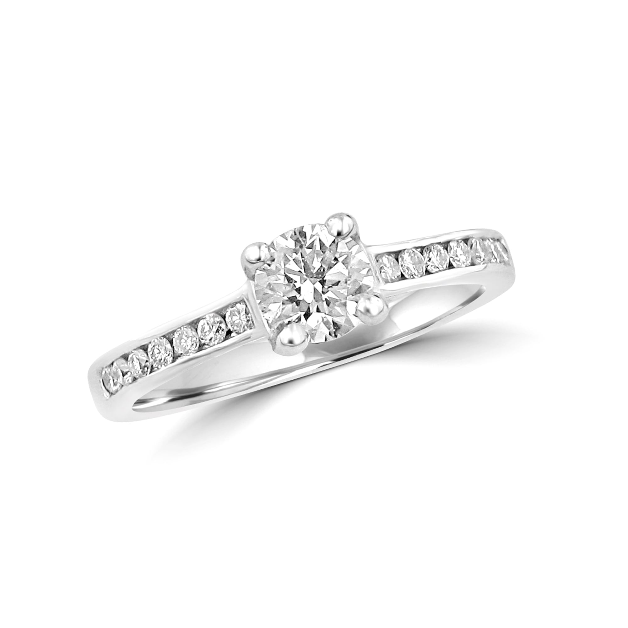 band detailed rings products engagement designs ring silverscape diamond