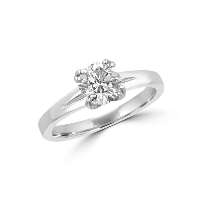 Avanti Platinum 1.14ct Round Brilliant Diamond Ring