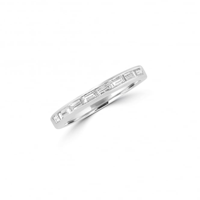 Avanti Platinum band Ring Set With Eight Baguette Diamonds RPT36433