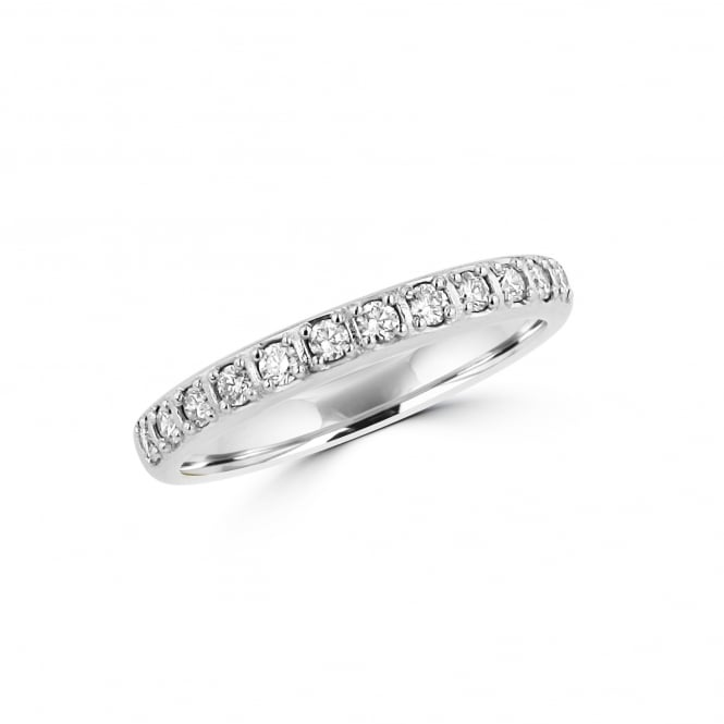 Avanti Platinum Band Ring With Ten Round Diamonds RPT35223