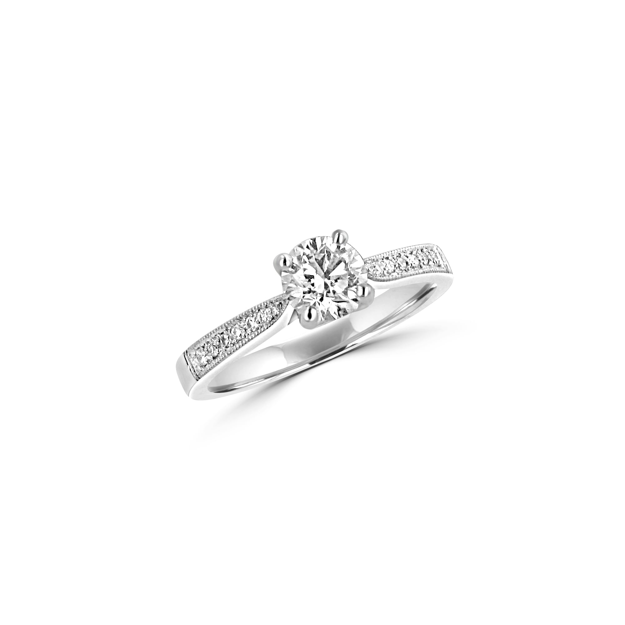 solitaire in carat engagement i platinum certified round ring trellis diamond rings si gia