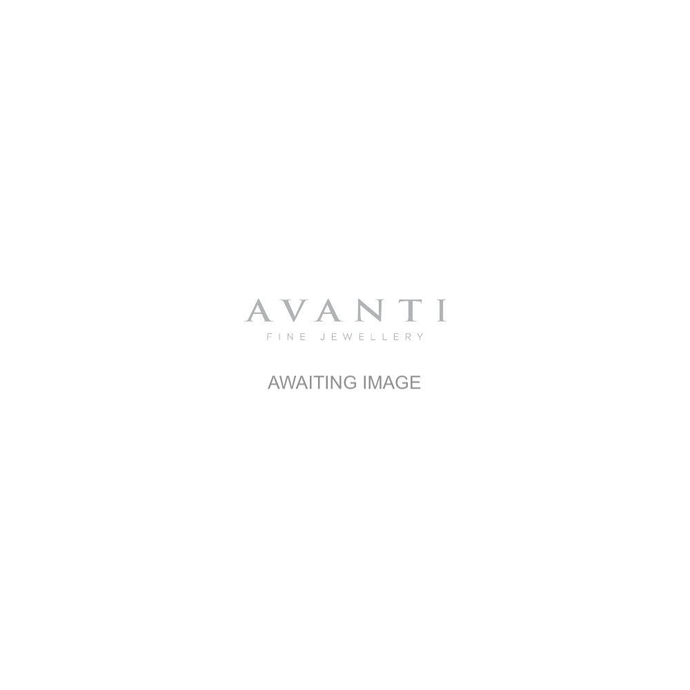 Avanti Platinum Two Carat Pear Diamond Ring With a Baguette Diamond Each Side