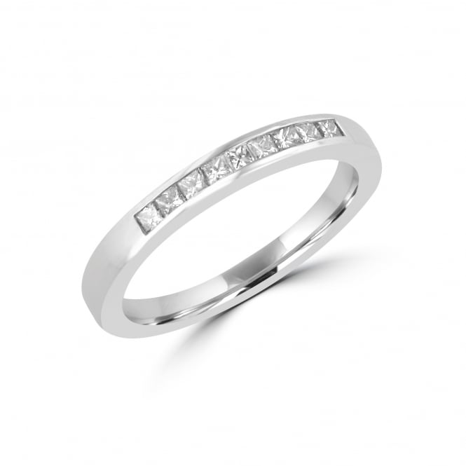 Avanti Princess Cut Diamond Platinum Eternity Ring RPT34110