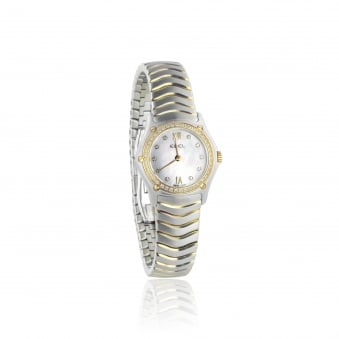 Pre-Owned Ebel Steel and Gold Watch