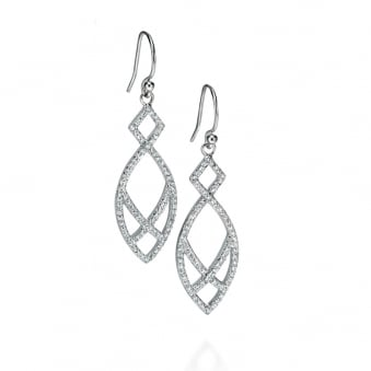 Fancy Fiorelli Cubic Zirconia Drop Earrings E5004C
