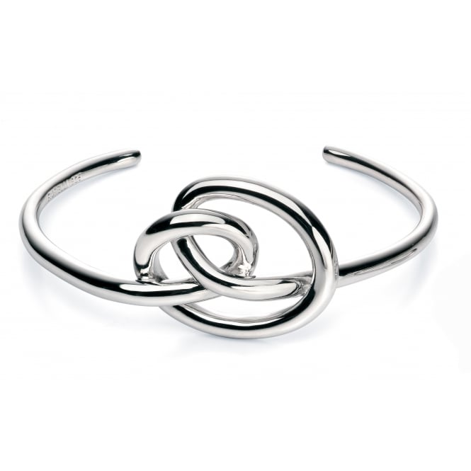 Fiorelli Silver Large Knot Bangle