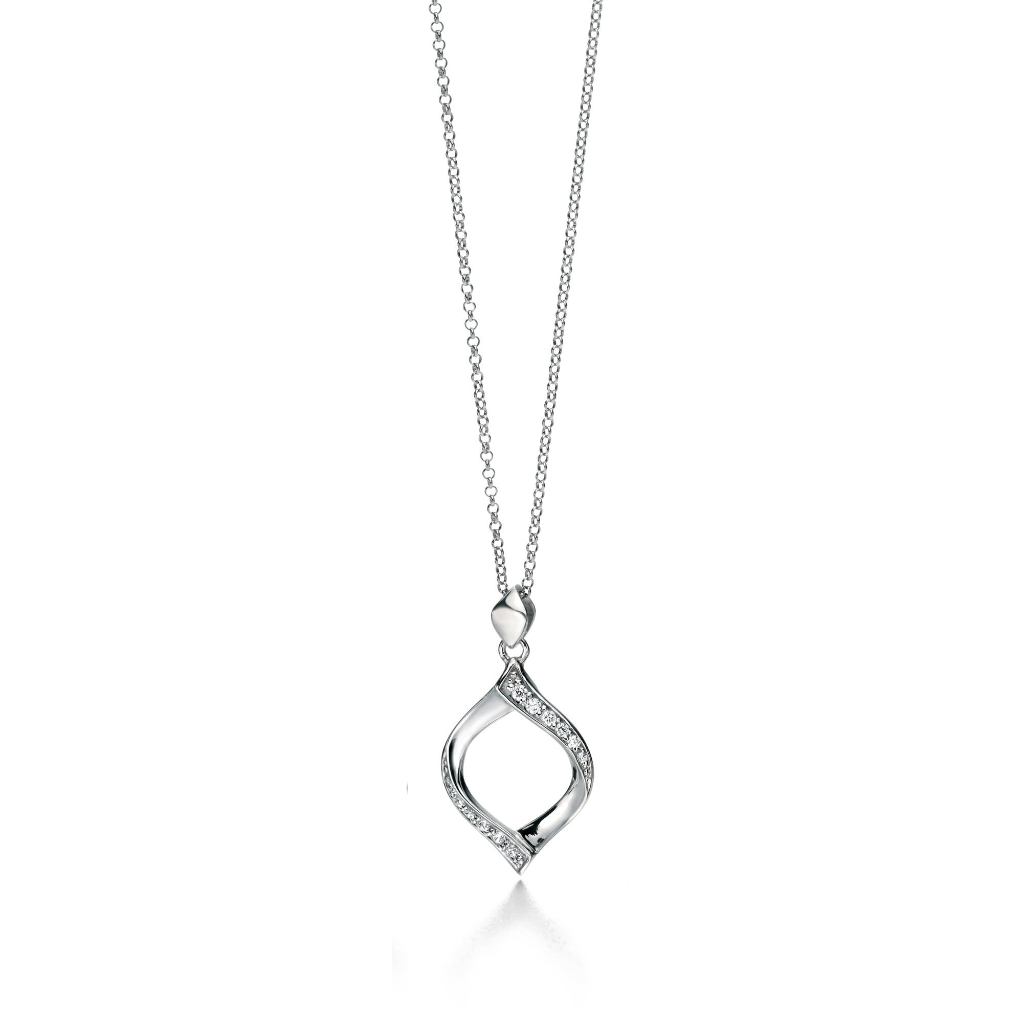 cubic products silver chain cross sterling vonk cz gold necklace zirconia and leoni