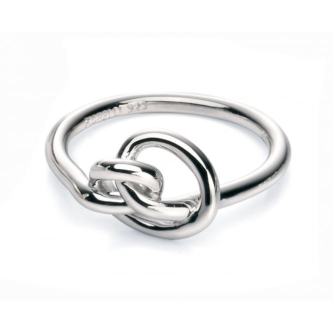 Fiorelli Silver Twisted Knot Ring R3465