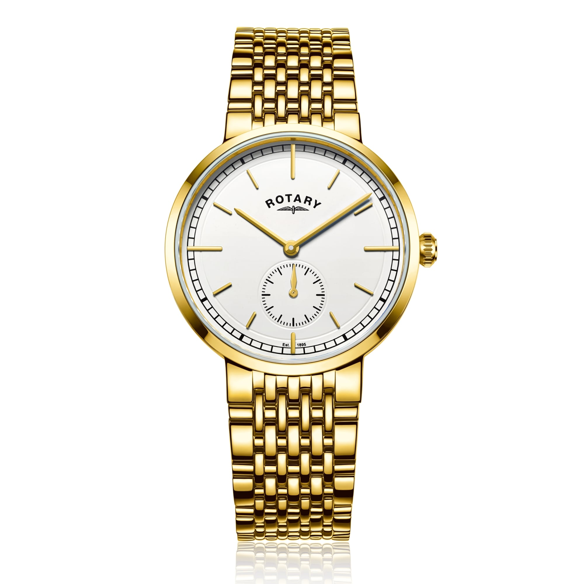 emporio product watch gold watchish chronograph mens armani