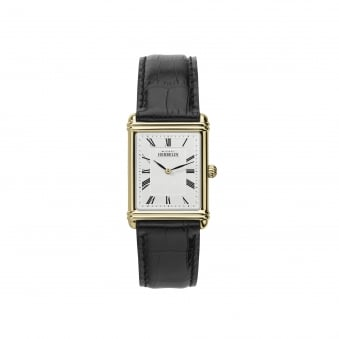 Mens Michel Herbelin Deco Inspired Watch With Leather Strap 17468/P08