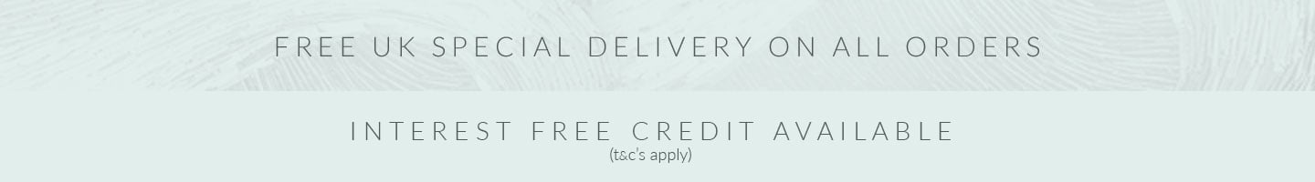 Free UK Delivery & Interest free credit