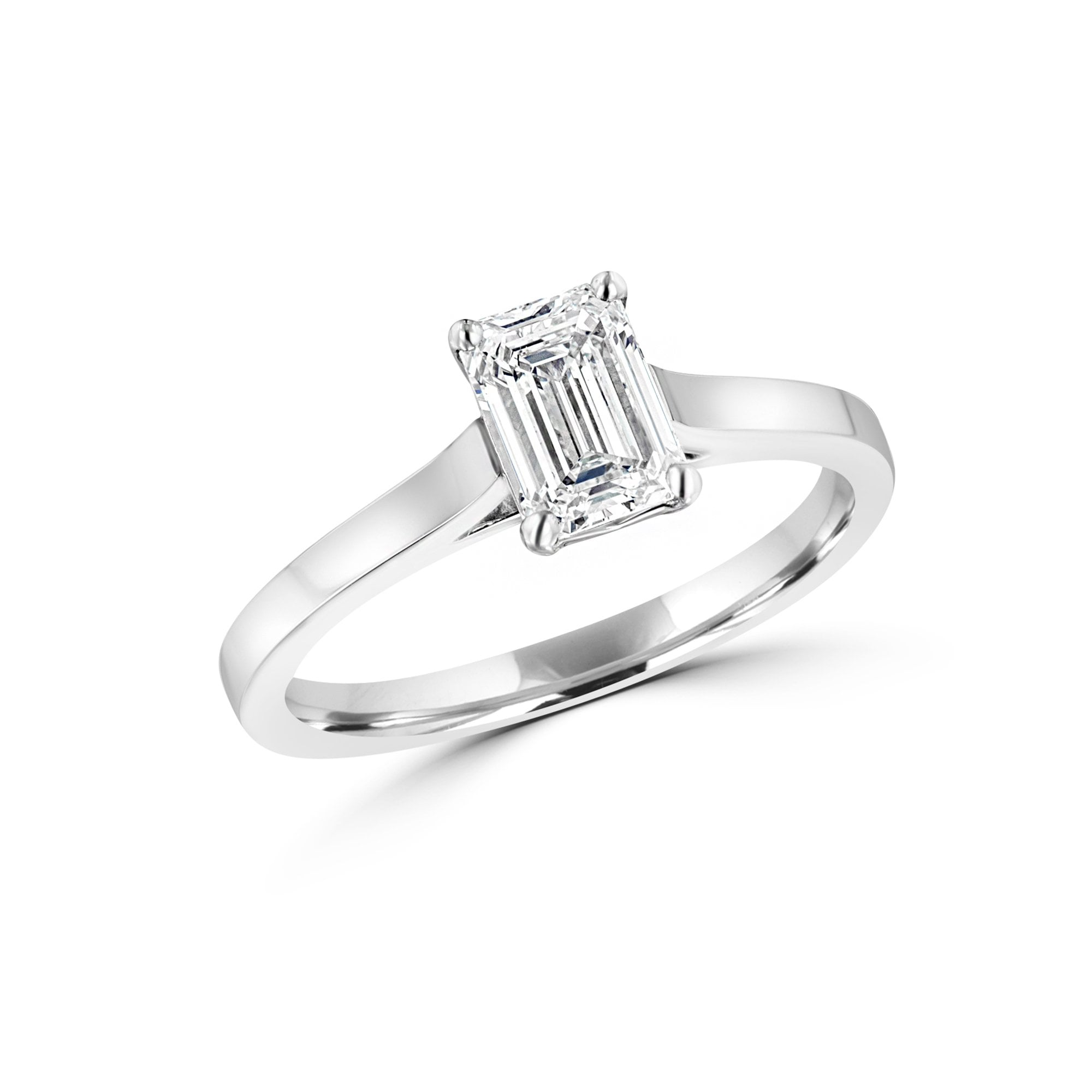 1 01ct Diamond Solitaire British Diamond Engagement Ring Specialist