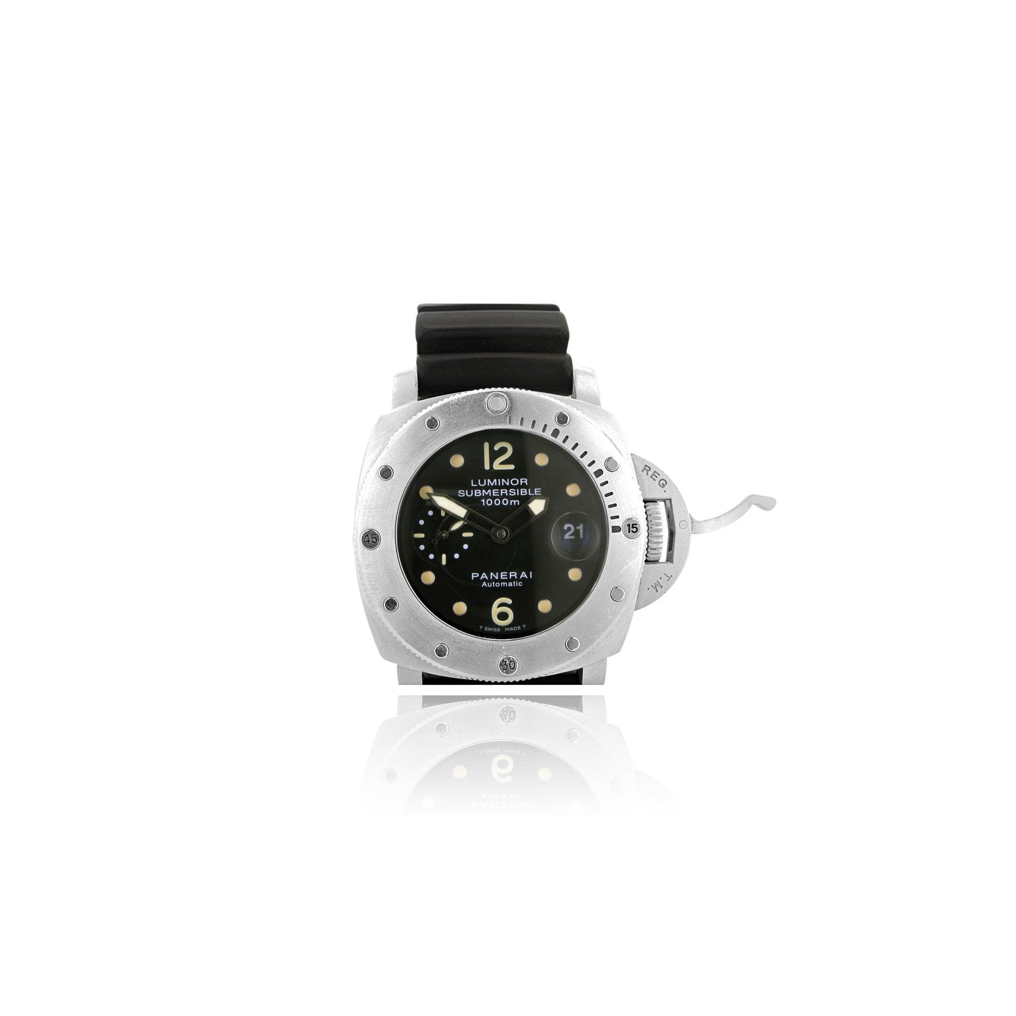 Panerai Luminor Submersible 1000M Professional Divers Watch ... e91c869dd831